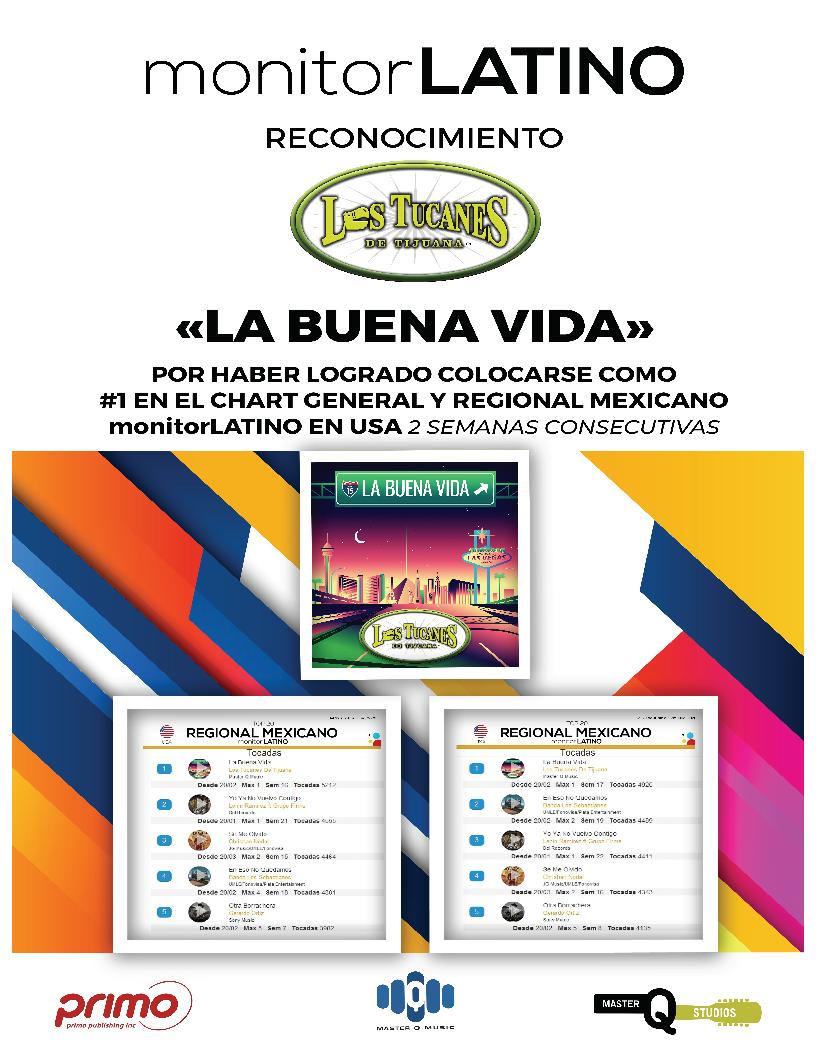"Monitor Latino ""La Buena Vida"" #1"