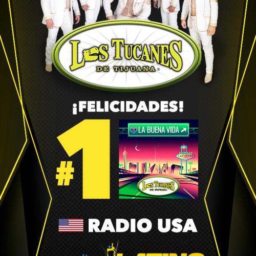 """""""La Buena Vida"""" en el #1 Monitor Latino"""